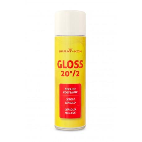 SPRAY-KON GLOSS 20°/2 - Klej kontaktowy w sprayu - 500ml