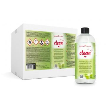 SPRAY-KON CLEAN – Zmywacz do płyt meblowych 1L - 1 pudełko - 12 butelek - PL